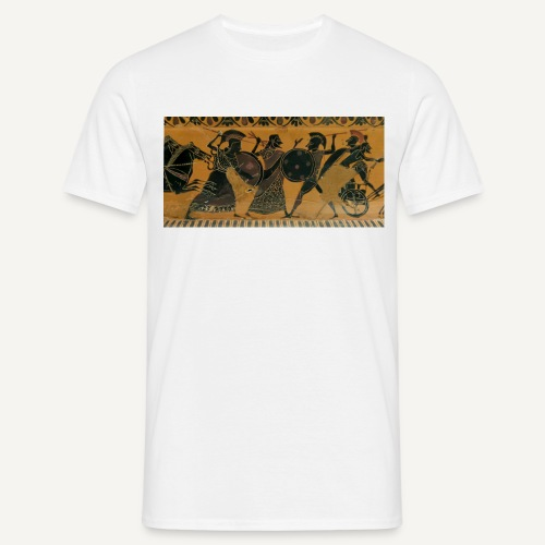Hoplici  (czarna) - Koszulka męska