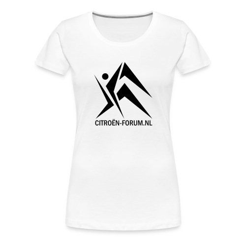 Citroen Classic Girl - Vrouwen Premium T-shirt