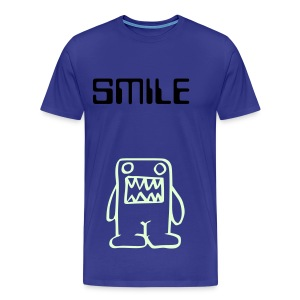 Cute glow-in-the-dark monster fit top (you can change the colour of the top and text to suit you!) - Men's Premium T-Shirt
