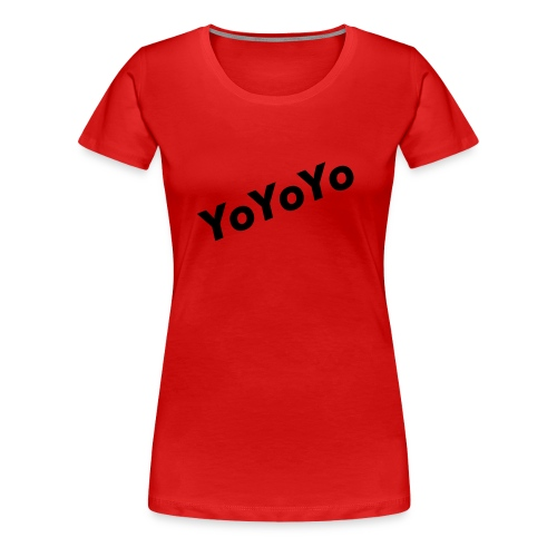 The YoYo Tee - Women's Premium T-Shirt