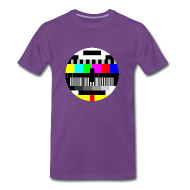 T-shirts ~ Mannen Premium T-shirt ~ Test Pattern (Sheldon)