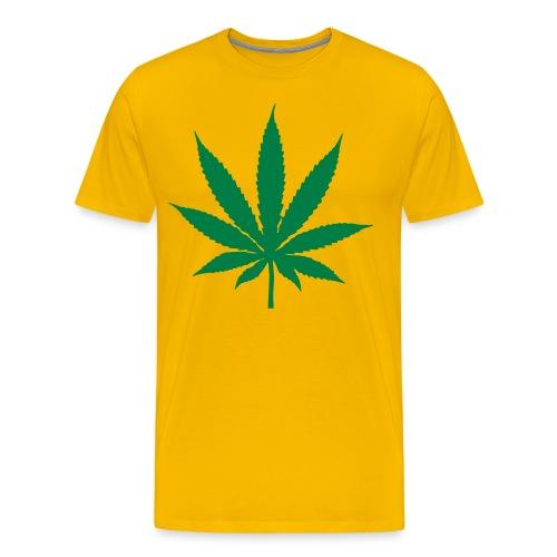 t-shirt atmosphere128 jaune - T-shirt Premium Homme