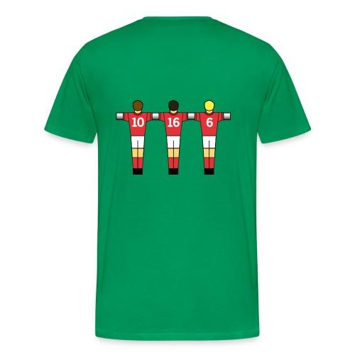 England 66 Table Football (various colours) - Men's Premium T-Shirt