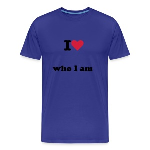 Tee slimfit - who i am  - T-shirt Premium Homme