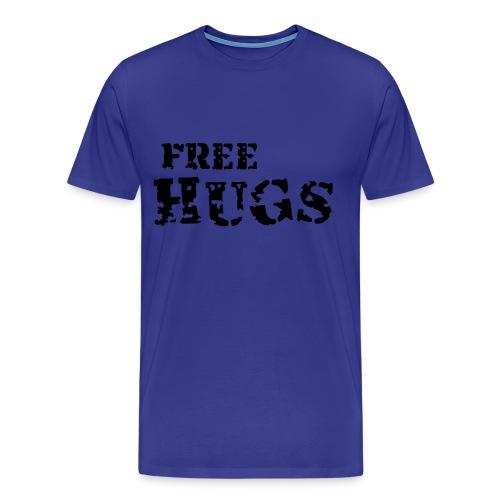 Free hugs - Premium T-skjorte for menn