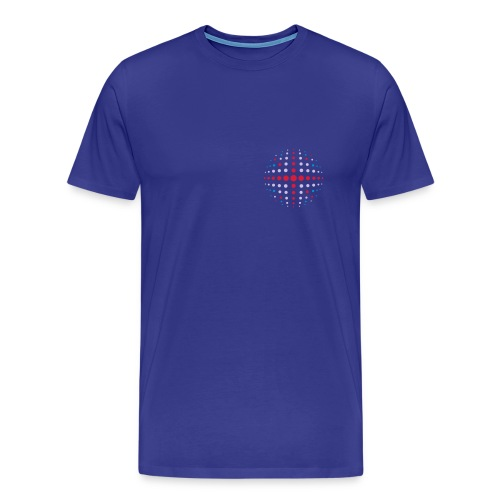 UK Royal Globe - Men's Premium T-Shirt