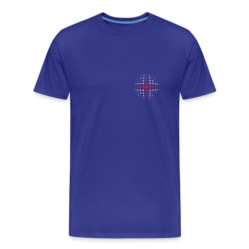 Scrabble Team GB globe - Men's Premium T-Shirt