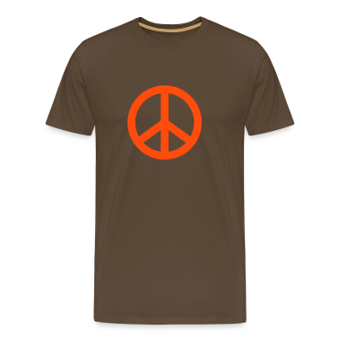Braun Peace © T-Shirts