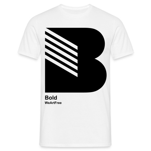 WAF28A - B Bold - Men's T-Shirt
