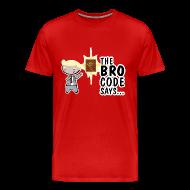 Camisetas ~ Camiseta premium hombre ~ Camiseta Barney Stinson How i met your mother bro code - chico manga corta