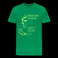 Camisetas ~ Camiseta premium hombre ~ Camiseta Hombre Basis Princeps August