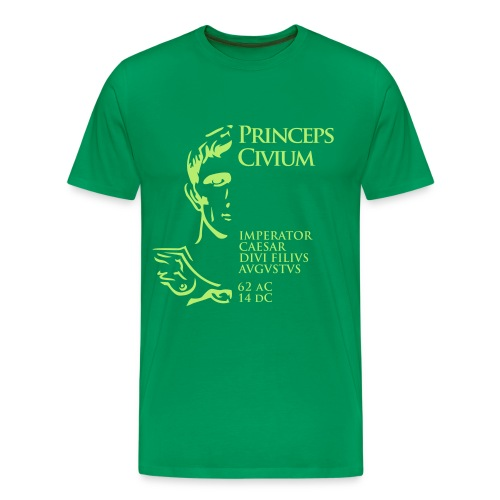 Camiseta Hombre Basis Princeps August - Camiseta premium hombre