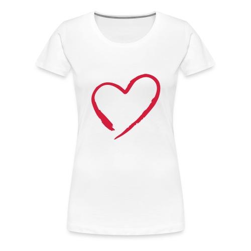 Heart - Women's Premium T-Shirt