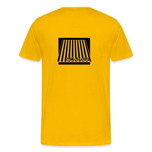 Männer T-shirt klassisch, mit Logo und Text, veschiedene Farben - Männer Premium T-Shirt
