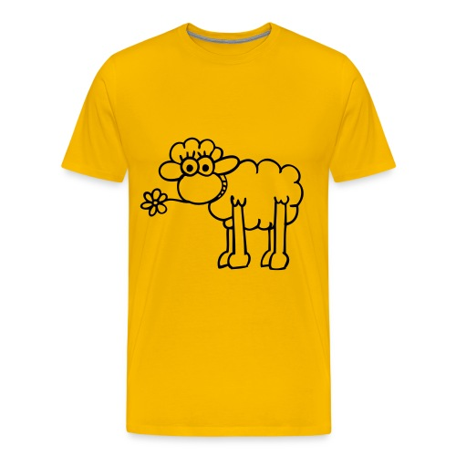Mouton Snack - T-shirt Premium Homme
