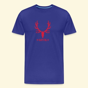 Jagdshirt Kapital - Männer Premium T-Shirt