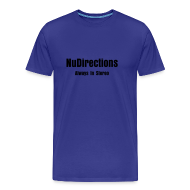 Tee shirts ~ T-shirt Premium Homme ~ NuDirections Always In Stereo