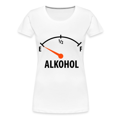 ALKOHOL - T-shirt Premium Femme