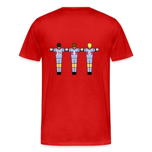 West Ham 70 Table Football (various colours) - Men's Premium T-Shirt