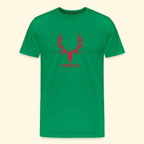 Jagdshirt Roter Stern - Männer Premium T-Shirt