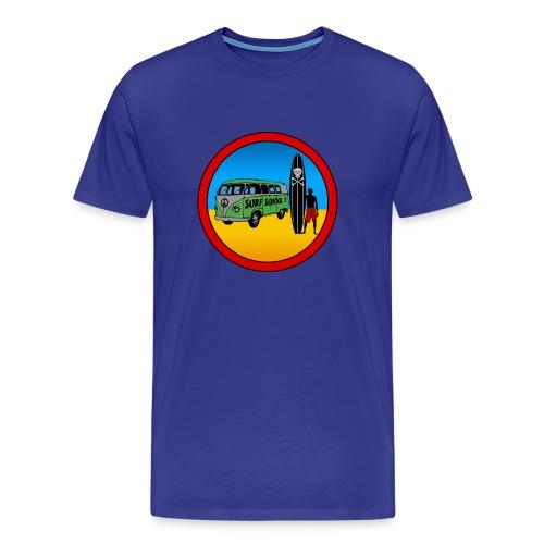 VEE DUB CAMPER VAN TEE #13 - Men's Premium T-Shirt