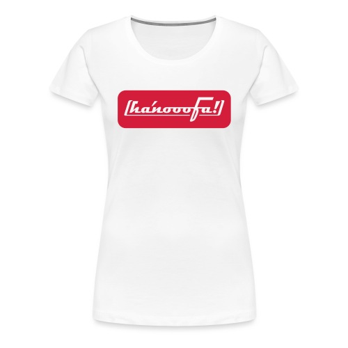 ABSOLUT HANNOVER BEKENNER GIRLIE-SHIRT - Frauen Premium T-Shirt