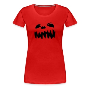 Scary Face - Women's Premium T-Shirt