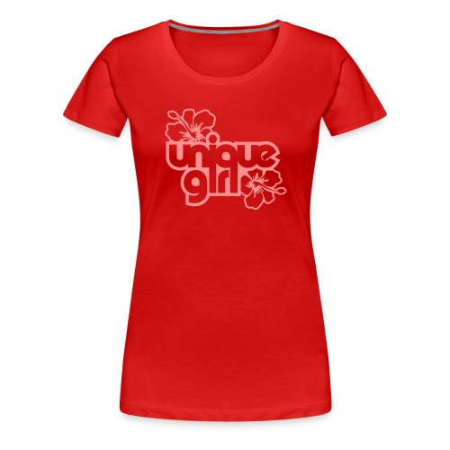 The Girlie - Dame premium T-shirt