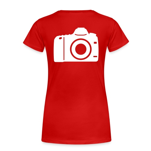 Mannen normal shirt 'photographer' - Vrouwen Premium T-shirt