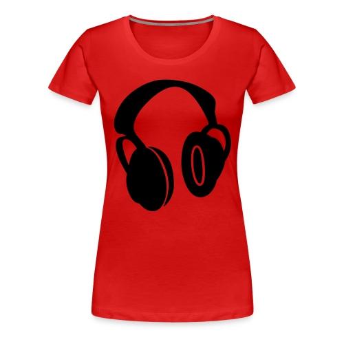 Muzyka - Koszulka damska Premium