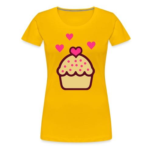 Cupcake love Shirt - Vrouwen Premium T-shirt