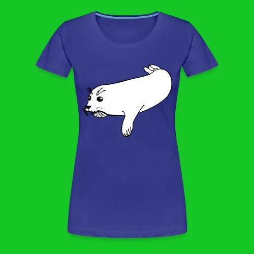 Zeehond shirt vrouw - Vrouwen Premium T-shirt