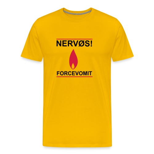 Forcevomit - Premium T-skjorte for menn