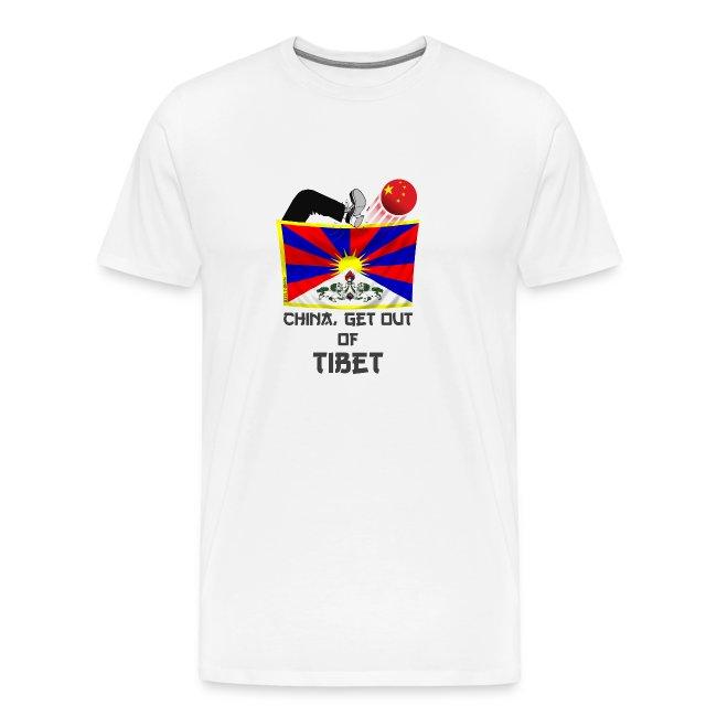TIBET - CHINA GET OUT TEE