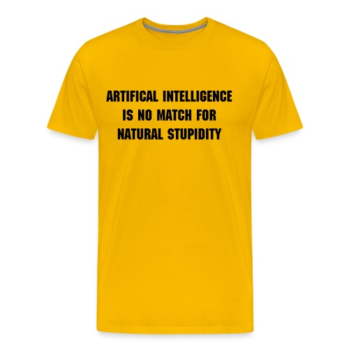 Artificial Intelligence - Men's Premium T-Shirt