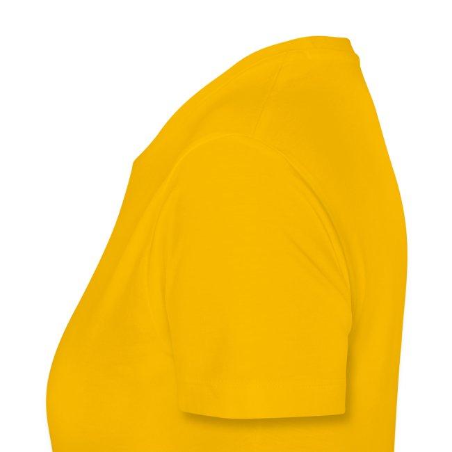 Frauen-Shirt - Logo hinten (Text vorn änderbar)