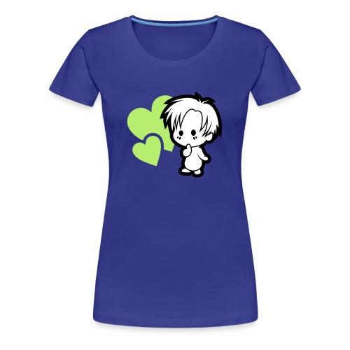 Chibi love, dámske - Women's Premium T-Shirt