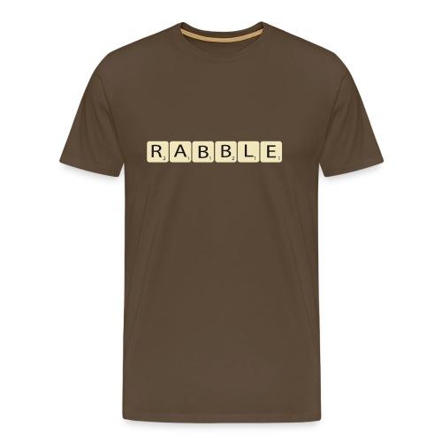 rabble - Mannen Premium T-shirt