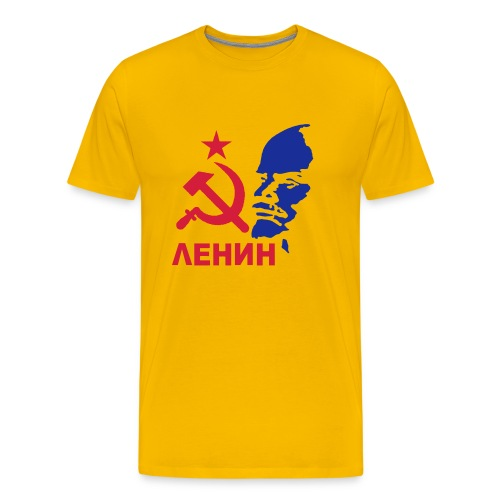 LENIN TEE #2 - Men's Premium T-Shirt
