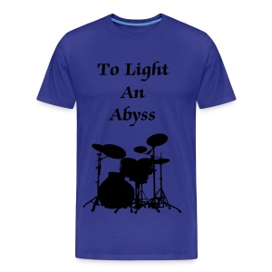 To Light An Abyss drums - Men's Premium T-Shirt