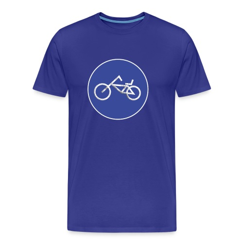 iets minder fiets - Mannen Premium T-shirt