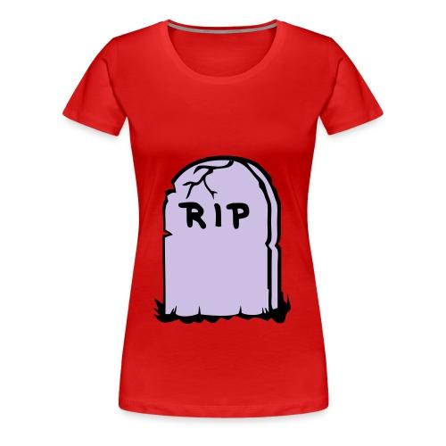 Womans Classic GirlieR.I.P T-Shirt - Women's Premium T-Shirt