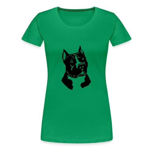 T-skjorte dame med lett innsvingt liv.  - Premium T-skjorte for kvinner