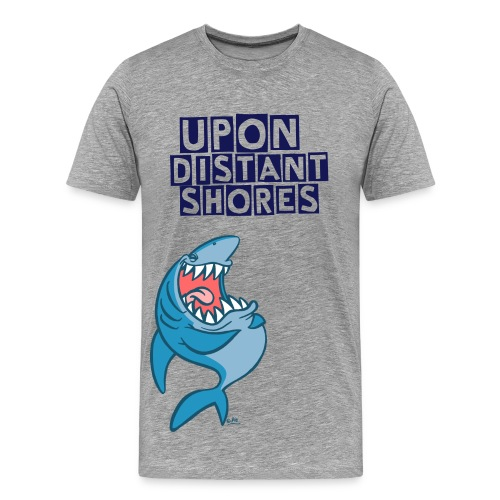 Shark attack.  - Men's Premium T-Shirt