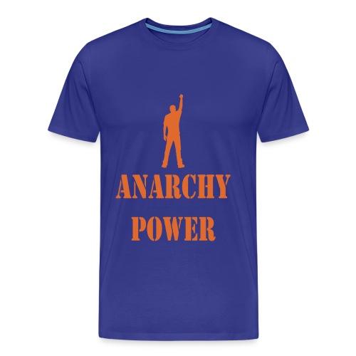 ANARCHY POWER TEE - Men's Premium T-Shirt