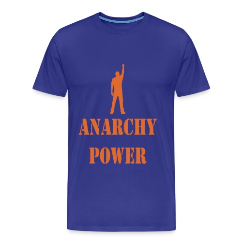 ANARCHY POWER TEE - Men's Premium T-Shirt