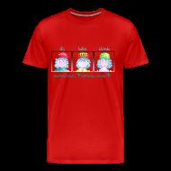 Camisetas ~ Camiseta premium hombre ~ ski bike climb
