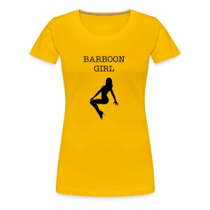 barboon girl - Women's Premium T-Shirt