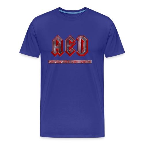 aed - Mannen Premium T-shirt