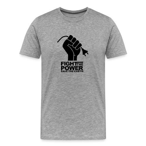 FIGHT THE POWER TEE - Men's Premium T-Shirt